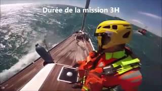 Sauvetage de 5 personnes sur un voilier en perdition par la SNSM Cap d'Agde