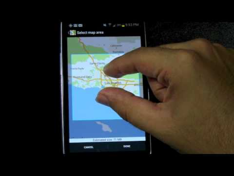 Google Maps How to Make Your Maps Available Offline