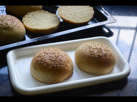 Whole Wheat Burger / Sandwich Bun Recipe