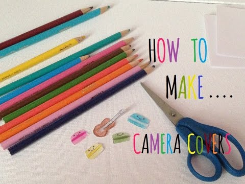 How to make camera covers for phone and laptop
