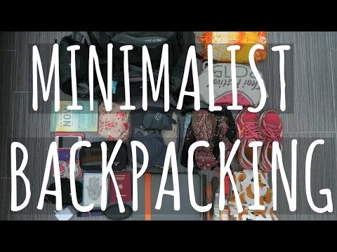 MINIMALIST BACKPACKING || Traveling for 9 months [Asia, Australia, USA]