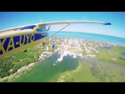 Arrive to Holbox in our Air Taxi!