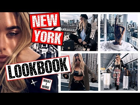 New York LOOKBOOK!! What I wore | Tashietinks