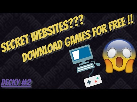 Secret Websites TO Download Games for FREE!! / Decky #2