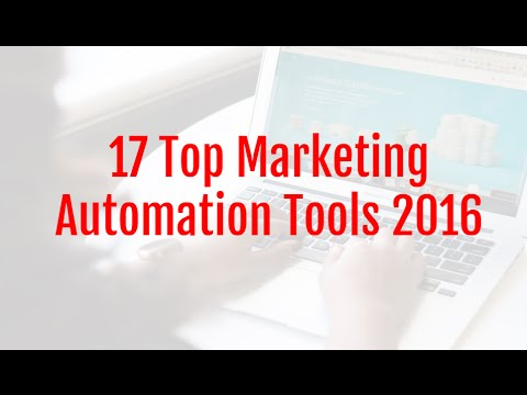 17 Top Marketing Automation Tools For Small Business 2016