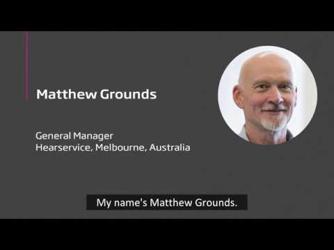 Hearing care professional Matthew Grounds on fitting Oticon Opn hearing aids