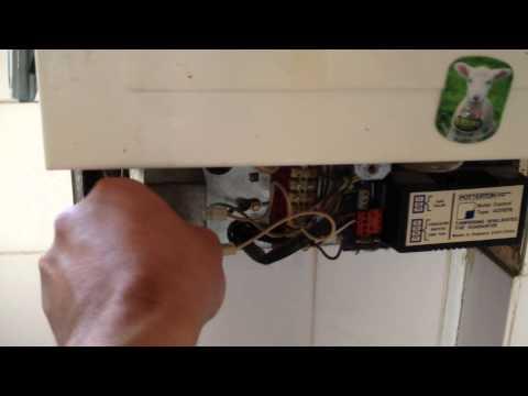 Potterton Netaheat electronic boiler working fine after repair