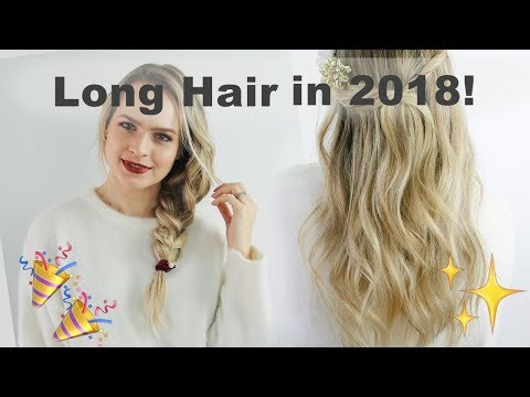 Resolutions for Growing Longer Stronger Hair in 2018 - KayleyMelissa