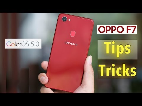 Oppo F7 Features, Tips and Tricks - Top 10 tricks of Color OS 5.0