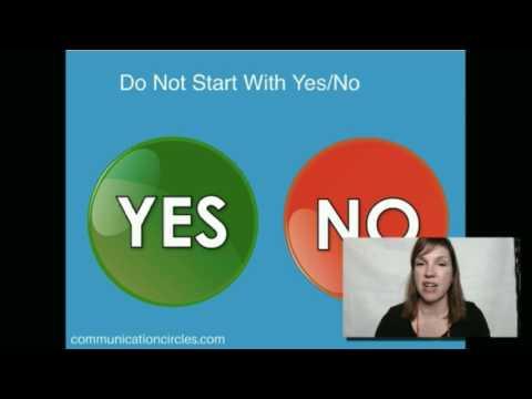AAC Augmentative Communication Starting Vocabulary