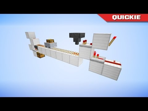Quickie: Tiny Minecart Loading & Unloading Stations