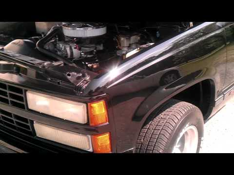 alberts ss 454 idle with open headers