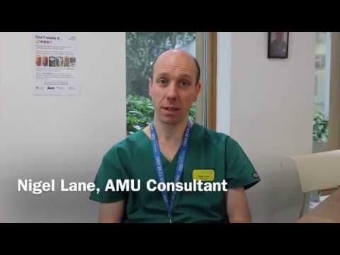 Meet Acute Medicine Consultant Nigel Lane