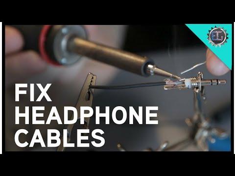 Amazing hacks How to repair iphone headphone #2_full tutorial