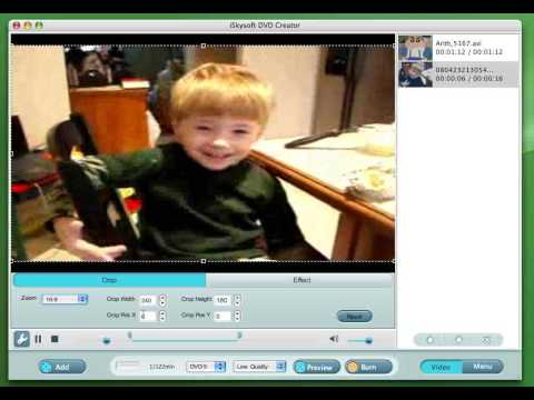 How to use Mac DVD Creator to burn Videos to DVD Movies on mac