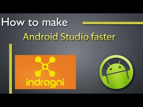How to make Android Studio faster