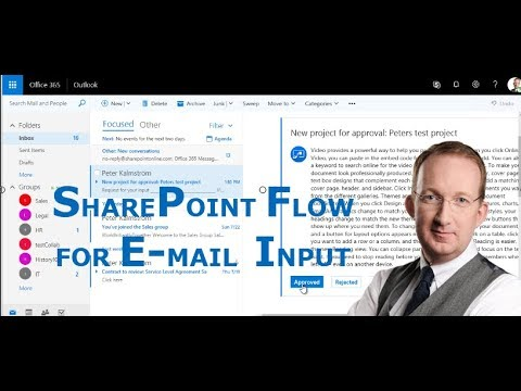 SharePoint Flow for E-mail Input on New Items