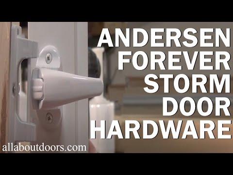 Andersen Forever Storm Door Hardware