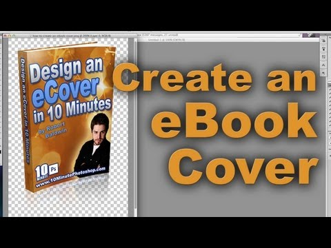 How to Create an eBook Cover - Photoshop tutorial