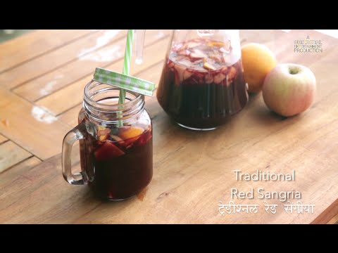 Just Cook |  Traditional Red Wine Sangria Recipe | Chef Saransh