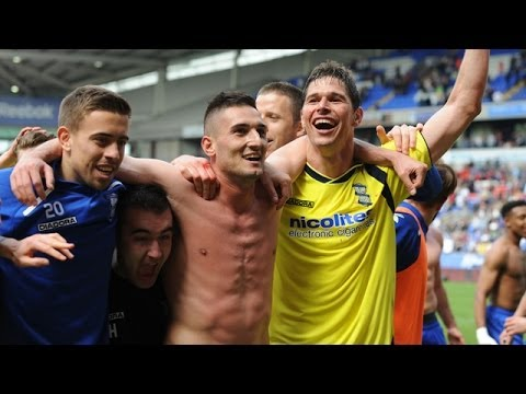Birmingham City survival celebrations | Bolton Wanderers 2-2 Birmingham City