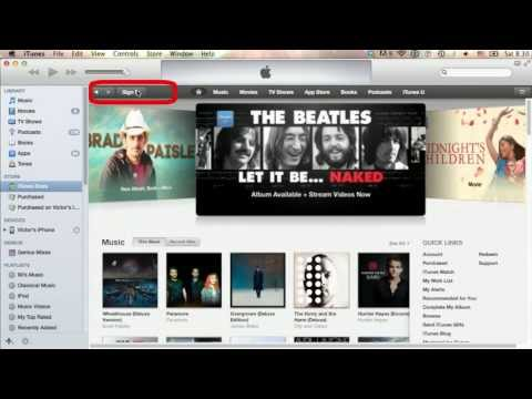 How to Setup Apple Account within iTunes