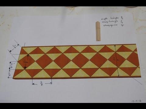 Cosmati Inlay Banding #2 - Part 1 - Making the Core
