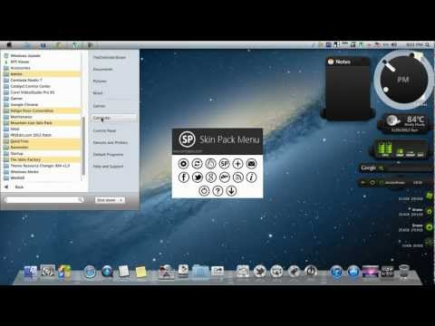 Windows 7 Theme - Glass Onion Skin Pack - Sony Skin Pack For