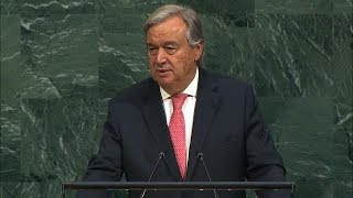 António Guterres (Secretary-General) Addresses General Debate, 72nd session