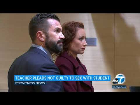 Xxx Mp4 Beaumont High School Teacher Accused Of Having Sex With Student Pleads Not Guilty ABC7 3gp Sex