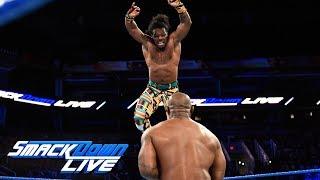 The New Day vs. Gable & Benjamin - Winners face The Usos at Fastlane: SmackDown LIVE, Feb. 20, 2018