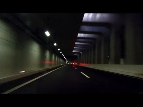 Japanese Freeways & Tunnels - Fast & Melodious!