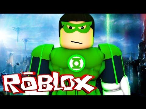 GREEN LANTERN IN ROBLOX! (Roblox Superheroes)