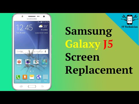 How to replace Samsung Galaxy J5 screen