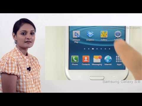 Samsung Galaxy S3 - Enable Data Access - Preview