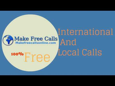 Make a phone call - Free internet calls