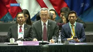 Владимир Путин на пресс конференции подвел итоги своего визита в Сингапур