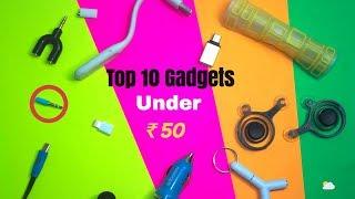 Top 10 Tech & Gadgets Under 50 Rupees || CS TECH🔥🔥🔥
