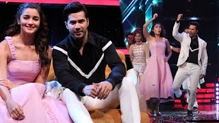 Varun Dhawan & Alia Bhatt Promote Badrinath Ki Dulhania on 'The Voice'