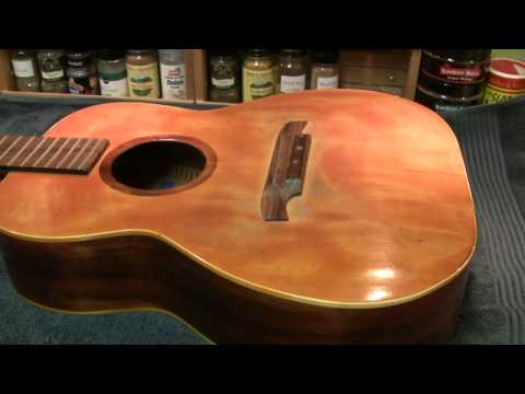 The 12 String Chronicles - Part 1 of many - Repairing a 48 year old guitar