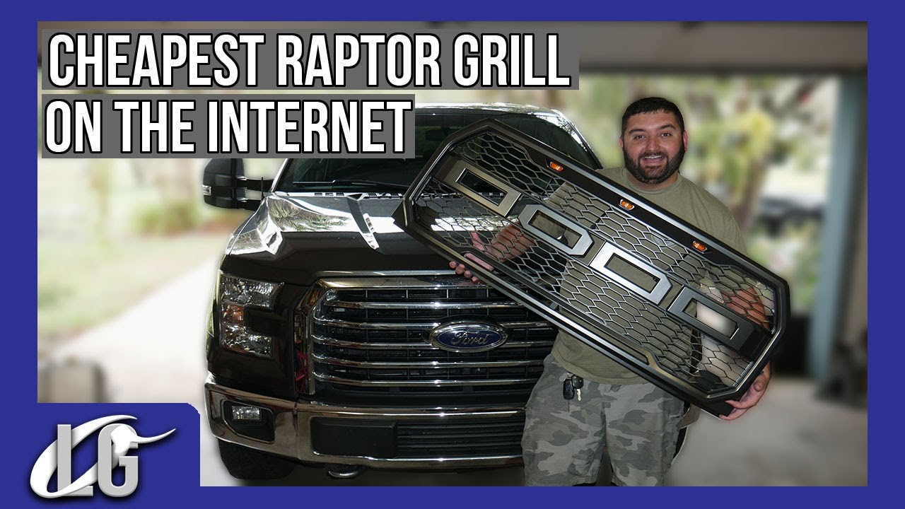 The Cheapest F150 Raptor Style Grille! It's Actually Good!