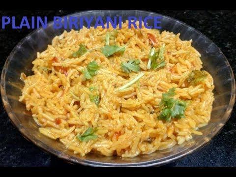 plain biriyani rice (Malayalam)
