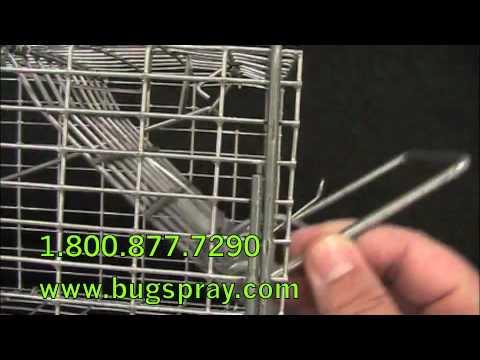 Live Trap Lock and Trip Pan Hook Repair