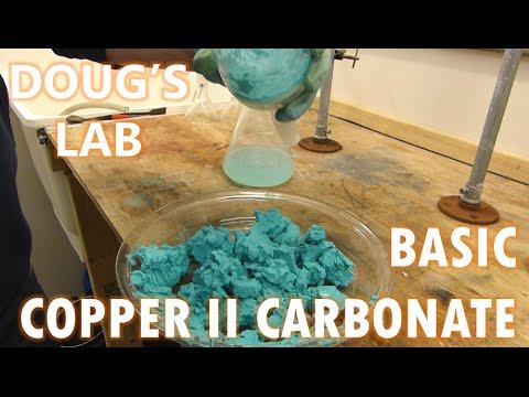 Basic Copper II Carbonate