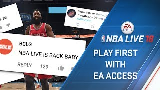 Play NBA LIVE 18 First on Xbox One
