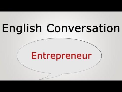 English conversation: Entrepreneur