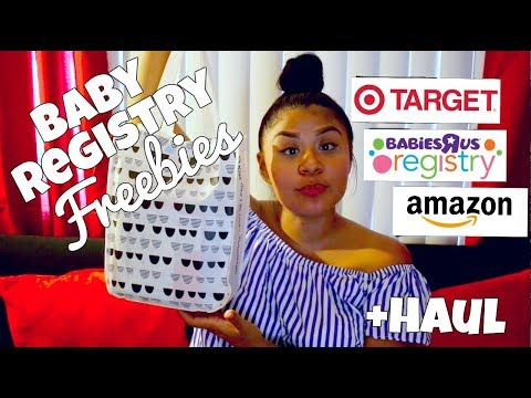 How to get FREE baby stuff! / Target, BabiesRus, Amazon Haul