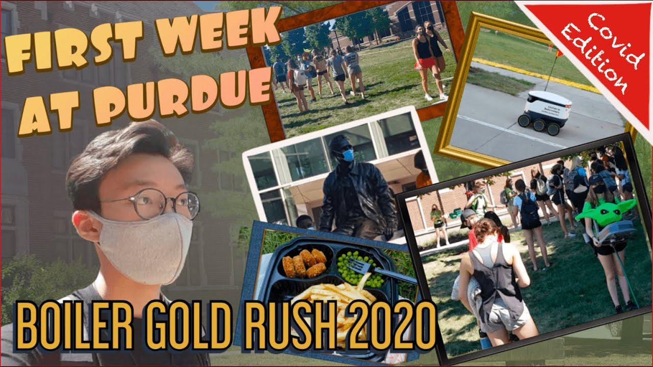 First Week at Purdue - Boiler Gold Rush (BGR/BGRi 2020) - Covid-19 Edition
