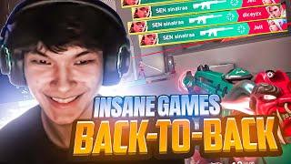 SINATRAA'S INSANE BACK TO BACK GAMES !!! (59 KILLS!)