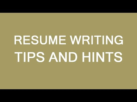Resume writing tips for newcomers to Canada. LP Group